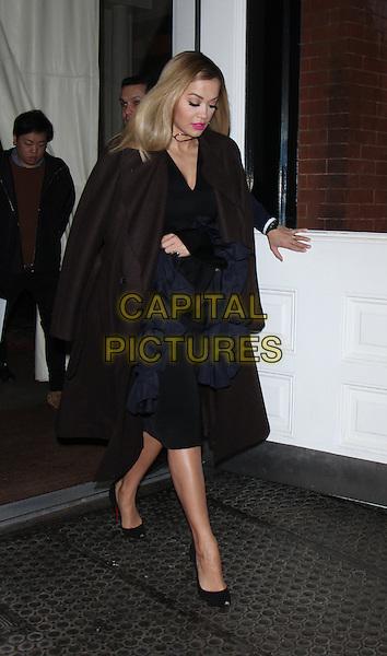 NEW YORK, NY - DECEMBER 8: Rita Ora seen in New York City on December 08, 2016. <br /> CAP/MPI/RW<br /> &copy;RW/MPI/Capital Pictures