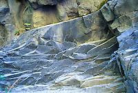 Volcanic Rock at Lava Canyon, Mt. St. Helens National Volcanic Monument, Washington, US