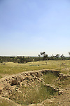 Israel, Northern Negev, Tel Haror, site of ancient Gerar