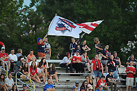 Boyds, MD -Saturday August 26, 2017: Washington Spirit fans during a regular season National Women's Soccer League (NWSL) match between the Washington Spirit and the Chicago Red Stars at Maureen Hendricks Field, Maryland SoccerPlex.