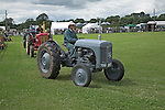 Vintage tractor display, Suffolk Smallholders annual show, Stonham Barns, Suffolk, England, July 2008