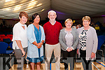 Showband Concert: Pictured at the showband concert held in the Duagh Sports Complex on Thursday night last were Karen Trench, Anne Carmody, Listowel, Jer Long, Knocknagoshel , Dolly Stack & Mary Fennell, Listowel.
