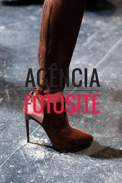 Nova Iorque, EUA – 02/2014 - Desfile de Donna Karan durante a Semana de moda de Nova Iorque - Inverno 2014. <br /> Foto: FOTOSITE