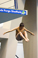 Platform diver Tom Daley aged 11 in 2006 at Ponds Forge International Sports Centre in Sheffield...© Trevor Smith Chesterfield