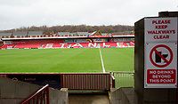 A general view of Wham Stadium, home of Accrington Stanley<br /> <br /> Photographer Andrew Vaughan/CameraSport<br /> <br /> The EFL Sky Bet League One - Accrington Stanley v Lincoln City - Saturday 15th February 2020 - Crown Ground - Accrington<br /> <br /> World Copyright © 2020 CameraSport. All rights reserved. 43 Linden Ave. Countesthorpe. Leicester. England. LE8 5PG - Tel: +44 (0) 116 277 4147 - admin@camerasport.com - www.camerasport.com