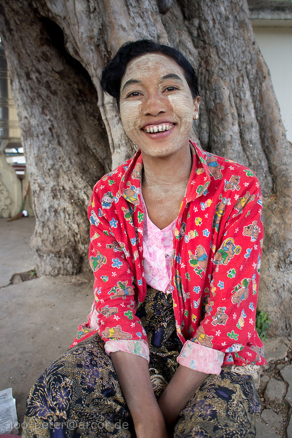 woman in  Bagan, Myanmar, 2011