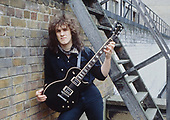DIO - gutiarist Vivian Campbell - photosession in London UK - 1983.  Photo credit: Ray Palmer Archive/IconicPix