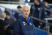 31st October 2017, Cardiff City Stadium, Cardiff, Wales; EFL Championship football, Cardiff City versus Ipswich Town; Mick McCarthy, Manager of Ipswich Town awaits kickoff