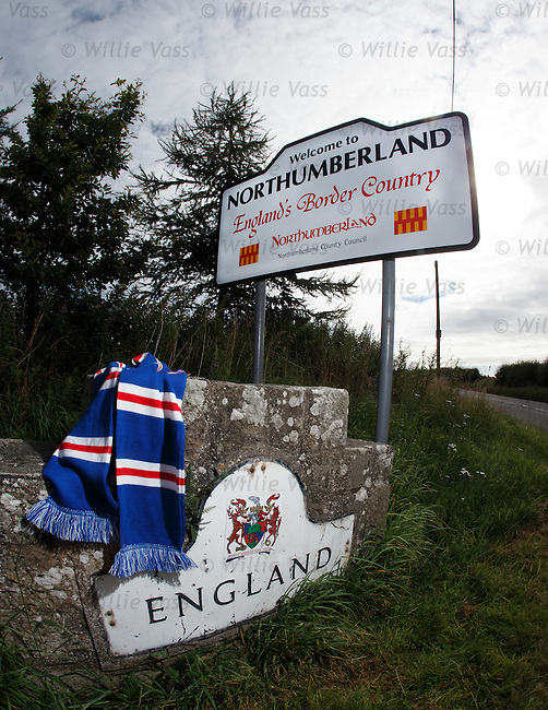 Welcome to England for Rangers on tour in the SFL Division 3 as our destination is Berwick