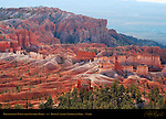 Bryce Canyon Landscape, Bristlecone Point from Sunrise Point, Bryce Canyon National Park, Utah