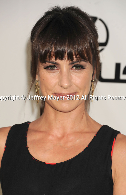 BURBANK, CA - SEPTEMBER 29: Constance Zimmer arrives at the 2012 Environmental Media Awards at Warner Bros. Studios on September 29, 2012 in Burbank, California.