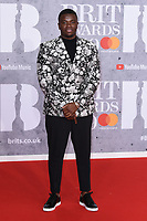LONDON, UK. February 20, 2019: Big Shaq arriving for the BRIT Awards 2019 at the O2 Arena, London.<br /> Picture: Steve Vas/Featureflash<br /> *** EDITORIAL USE ONLY ***