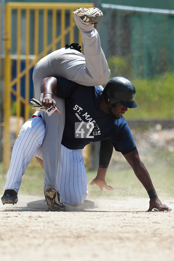 08 May 2010: Rene Leveret is seen during a tryout for Team France, in St Maarten, Netherlands Antilles.