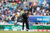 Colin de Grandhomme (New Zealand) in action  during India vs New Zealand, ICC World Cup Warm-Up Match Cricket at the Kia Oval on 25th May 2019