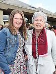 Alannah Smith who was confirmed in the Holy Family church Ballsgrove pictured with her sponsor Vera Floody. Photo:Colin Bell/pressphotos.ie