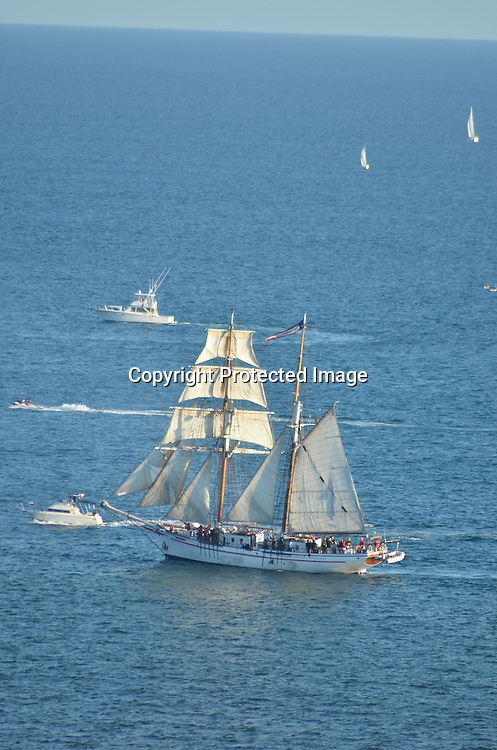 Stock photos of a schooner