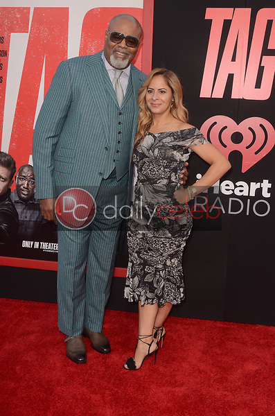 """Chi McBride<br /> at the """"Tag"""" World Premiere, Village Theater, Westwood, CA 06-07-17<br /> David Edwards/DailyCeleb.com 818-249-4998"""