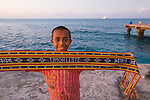 The dock at Com, Timor Leste
