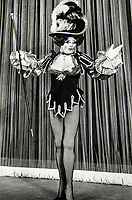 BNPS.co.uk (01202 558833)<br /> Pic:  SAS/BNPS<br /> <br /> John found plenty of festive work as a Pantomime Dame.<br /> <br /> Not Free! - 'King of Camp' John Inman's archive to be auctioned.<br /> <br /> Possessions from the estate of the late TV star John Inman have emerged for sale.<br /> <br /> The actor graced the small screen in the hit BBC comedy 'Are You Being Served' for 13 years from 1972 to 1985.<br /> <br /> The auction includes mementos from the sitcom which attracted 22 million viewers at its peak and spawned a film.