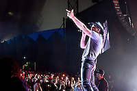 Tim McGraw performs during the 2010 Southern Voice Tour at the Shoreline Amphitheater