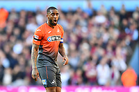 Leroy Fer of Swansea City during the Sky Bet Championship match between Aston Villa and Swansea City at Villa Park in Birmingham, England, UK.  Saturday 20 October  2018
