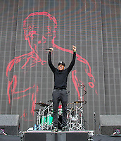 CHANCE THE RAPPER performs during The New Look Wireless Festival at Finsbury Park, London, England on 28 June 2015. Photo by Andy Rowland.