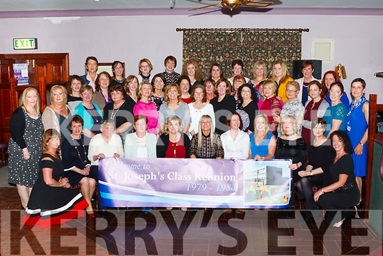 The Class of '84    St Joseph's Secondary School Abbeyfeale reunited last Friday night in the Winners Circle . It was a wonderful  success where class mates met up for the first time since leaving school. Some  traveled from the 4 corners of Ireland and the USA to attend. A great night was had by all.