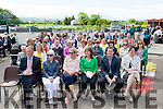 The crowd at the Castledrum NS 150th anniversary celebrations on Thursday