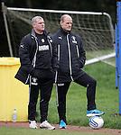 Ian Durrant and Gordon Durie