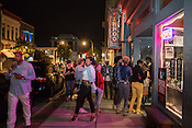 Durham, North Carolina - Friday May 6, 2016 - The line to see Rapsody at The Pinhook stretches out into the street.