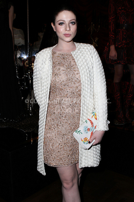 WWW.ACEPIXS.COM<br /> <br /> February 16, 2015 New York City<br /> <br /> Michelle Trachtenberg at the alice + olivia by Stacey Bendet fashion presentation on February 16, 2015 in New York City. <br /> <br /> By Line: Nancy Rivera/ACE Pictures<br /> <br /> <br /> ACE Pictures, Inc.<br /> tel: 646 769 0430<br /> Email: info@acepixs.com<br /> www.acepixs.com