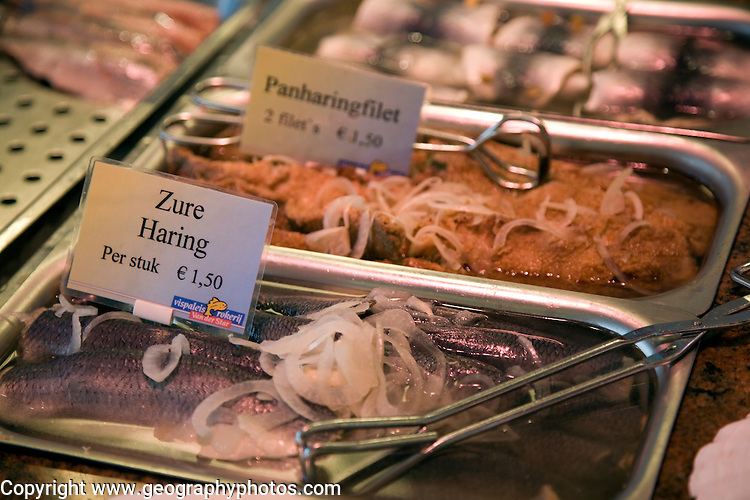 Display of fresh seafood, Oudeschild, Texel, Netherlands