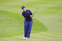 Angel Yin (USA) on the 1st fairway during Day 3 Singles at the Solheim Cup 2019, Gleneagles Golf CLub, Auchterarder, Perthshire, Scotland. 15/09/2019.<br /> Picture Thos Caffrey / Golffile.ie<br /> <br /> All photo usage must carry mandatory copyright credit (© Golffile | Thos Caffrey)