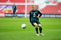 Jay Fulton of Swansea City in action during the Sky Bet Championship match between Nottingham Forest and Swansea City at the City Ground Stadium in Nottingham, England, UK. Wednesday 15 July 2020