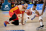 Quino Colom of Spain and during the Friendly match between Spain and Dominican Republic at WiZink Center in Madrid, Spain. August 22, 2019. (ALTERPHOTOS/A. Perez Meca)