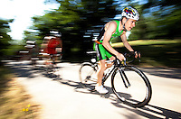 05 JUN 2010 - MADRID, ESP - Ignacio Carrasco Garcia - Spanish Age Group Triathlon Championships (PHOTO (C) NIGEL FARROW)