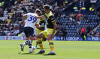 Preston North End's Billy Bodin scores his side's first goal  <br /> <br /> Photographer Stephen White/CameraSport<br /> <br /> Football Pre-Season Friendly - Preston North End v Southampton - Saturday July 20th 2019 - Deepdale Stadium - Preston<br /> <br /> World Copyright © 2019 CameraSport. All rights reserved. 43 Linden Ave. Countesthorpe. Leicester. England. LE8 5PG - Tel: +44 (0) 116 277 4147 - admin@camerasport.com - www.camerasport.com