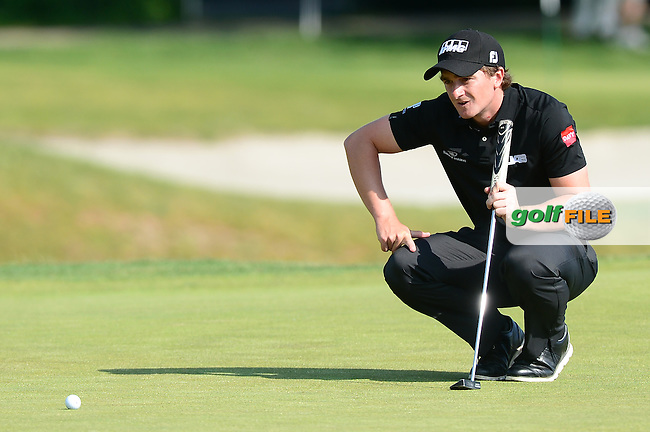 Paul Dunne of Ireland during Round 2 of the Lyoness Open, Diamond Country Club, Atzenbrugg, Austria. 10/06/2016<br /> Picture: Richard Martin-Roberts / Golffile<br /> <br /> All photos usage must carry mandatory copyright credit (&copy; Golffile | Richard Martin- Roberts)