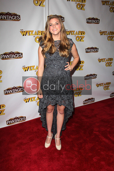"""Danielle Wade<br /> at """"The Wizard Of Oz"""" Los Angeles Premiere, Pantages Theater, Hollywood, CA 09-18-13<br /> David Edwards/DailyCeleb.Com 818-249-4998"""