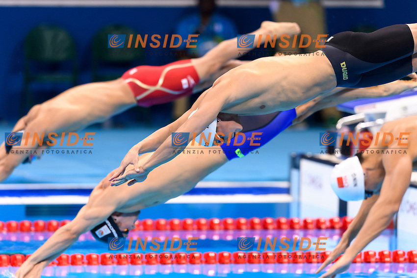MOROZOV Vladimir RUS Men's 100m Freestyle <br /> Rio de Janeiro 09-08-2016 Olympic Aquatics Stadium <br /> Swimming Nuoto <br /> Foto Andrea Staccioli/Deepbluemedia/Insidefoto
