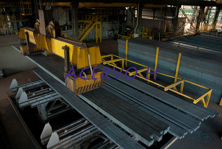 Produção de aço  e ferro gusa na acearia da Sinobras.<br /> Marabá, Pará, Brasil.<br /> Foto Paulo Santos