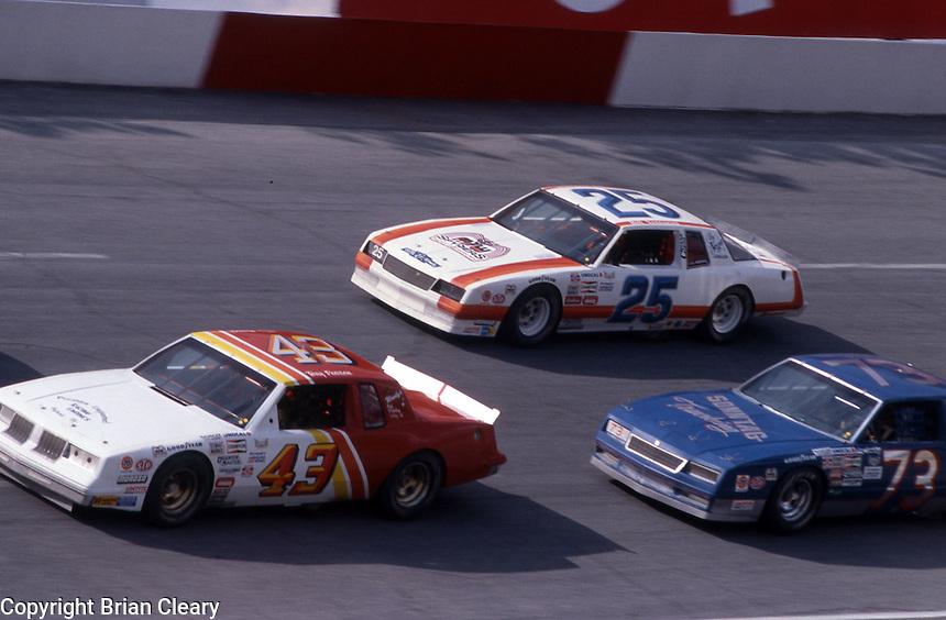 ARCA action Motorcraft 500 at Atlanta International Raceway in Hampton, GA on March 16, 1986.   (Photo by Brian Cleary/www.bcpix.com)