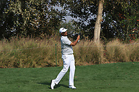 Arjun Atwal (IND) in action on the 7th during Round 1 of the Hero Indian Open at the DLF Golf and Country Club on Thursday 8th March 2018.<br /> Picture:  Thos Caffrey / www.golffile.ie<br /> <br /> All photo usage must carry mandatory copyright credit (&copy; Golffile | Thos Caffrey)