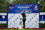 Lok Tin Lui of Hong Kong tees off on the 1st hole during the Round 1 of the Faldo Series Asia Grand Final at Mission Hills on March 2, 2011 in Shenzhen, China. Photo by Raf Sanchez / Faldo Series