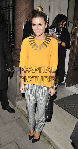LONDON, ENGLAND - FEBRUARY 04: Zoe Hardman attends the InStyle Best of British Talent party to celebrate the EE BAFTA Film Awards later this month, Dartmouth House, Charles St., on Tuesday February 04, 2014 in London, England, UK.<br /> CAP/CAN<br /> &copy;Can Nguyen/Capital Pictures