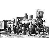 D&amp;RG locomotive #162 built in 1882.<br /> D&amp;RG  Santa Fe, NM  1908