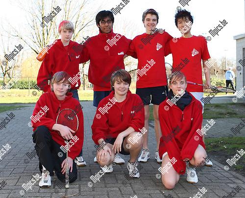 2008-02-09 / Badminton / IPJO Interprovinciale Jeugdontmoeting Tongerlo / -15 Antwerpen..Foto: Maarten Straetemans (SMB)