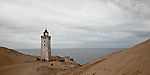Rubjerg Knude Lighhouse trapped in a 35m high Sand Dune