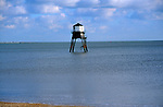 A727YC Victorian lighthouse beacon structures Leading Lights Dovercourt Essex England