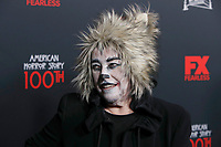 """LOS ANGELES - OCT 26:  Kathy Bates at the """"American Horror Story"""" 100th Episode Celebration at the Hollywood Forever Cemetary on October 26, 2019 in Los Angeles, CA"""